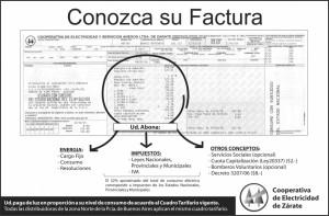 CONOZCA SU FACTURA